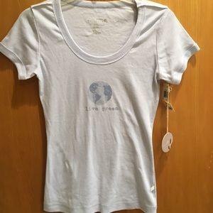 NWT Alfani Naturals organic cotton T-shirt M